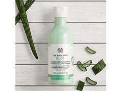 Creme de Limpeza Calmante The Body Shop Aloe Vera 250ML - 3