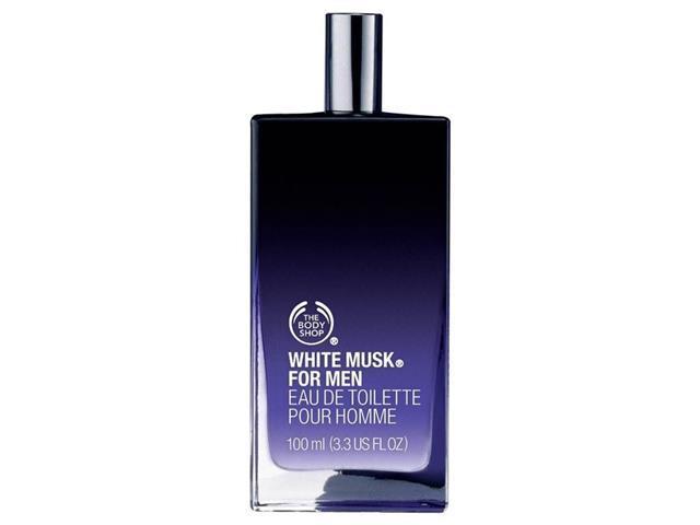 Perfume White Musk for Men The Body Shop Eau De Toilette 100mL