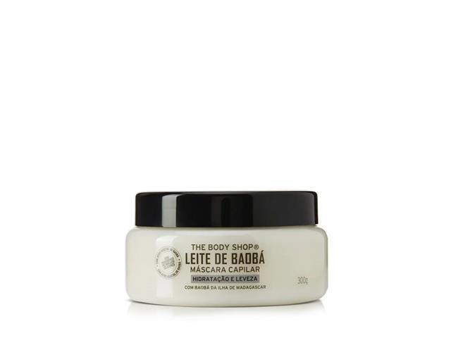 Máscara Capilar The Body Shop Leite de Baobá 300ML