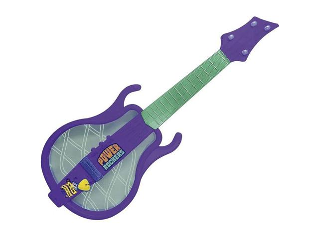 Guitarra Infantil Fun Mini Beat Power Rockers Roxa