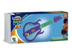 Guitarra Infantil Fun Mini Beat Power Rockers Roxa - 1
