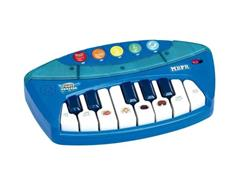 Teclado Infantil Fun Power Rockers Azul
