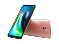 "Smartphone Motorola Moto G9 Play 64GB Duos 6.5"" 4G Câm 48+2+2MP Rosa - 1"