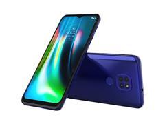 "Smartphone Motorola Moto G9 Play 64GB Duos 6.5"" 4G Câm 48+2+2MP Azul - 1"