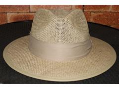 Chapéu Juta Australiana Natural Com Forro na Aba - 100 Unidades
