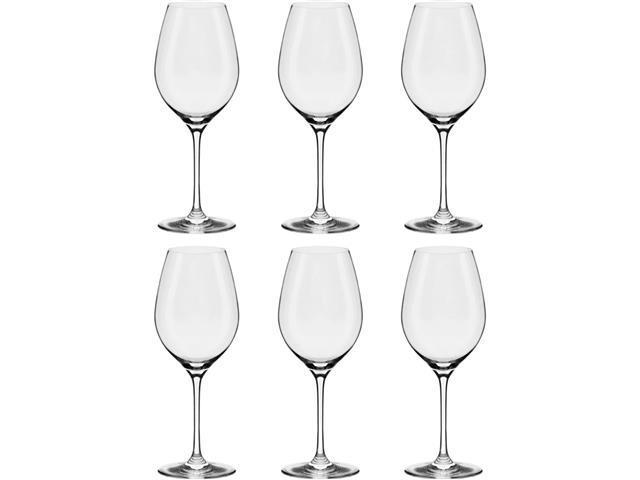 Conjunto Oxford Forever Classic Com 6 Taças De Cristal Bordeaux 660ml