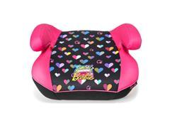 Assento para Auto Multikids Booster Hot Barbie Classic Preto/Rosa