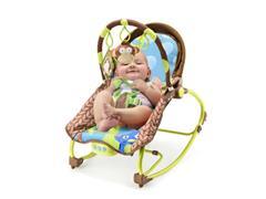 Cadeira de Balanço Multikids Baby BB365 para Bebês 0-20 Kg Macaco - 3