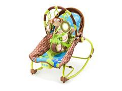 Cadeira de Balanço Multikids Baby BB365 para Bebês 0-20 Kg Macaco - 1