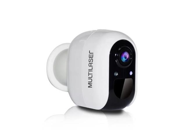Câmera a Bateria Inteligente Multilaser Liv SE227 Full HD Wi-Fi