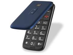 Celular Flip Multilaser P9020 Vita Dual Chip MP3 Azul