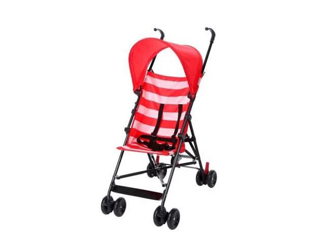 Carrinho de Bebê Guarda-Chuva Multikids BB558 Baby Navy Vermelho