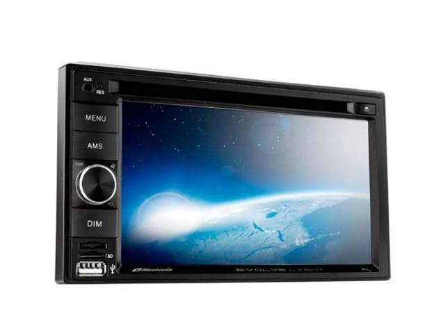Central Multimídia Multilaser P3321 Evolve Light Bluetooth 6,2 Pol.