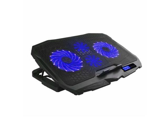 Cooler para Notebook Warrior AC332 com LED Azul e 4 Ventoinhas