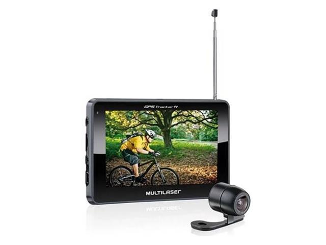 GPS Multilaser GP035 Tracker TV Touch FM Câmera de Ré Avin LCD 4,3 Pol