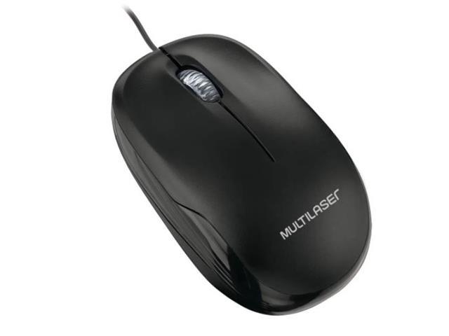 Mouse Box Optico Multilaser MO255 com Fio USB Preto