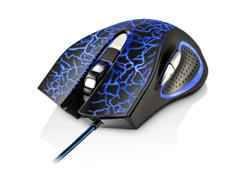 Mouse Gamer Multilaser MO250 3200DPI 6 Botões com LED - 1