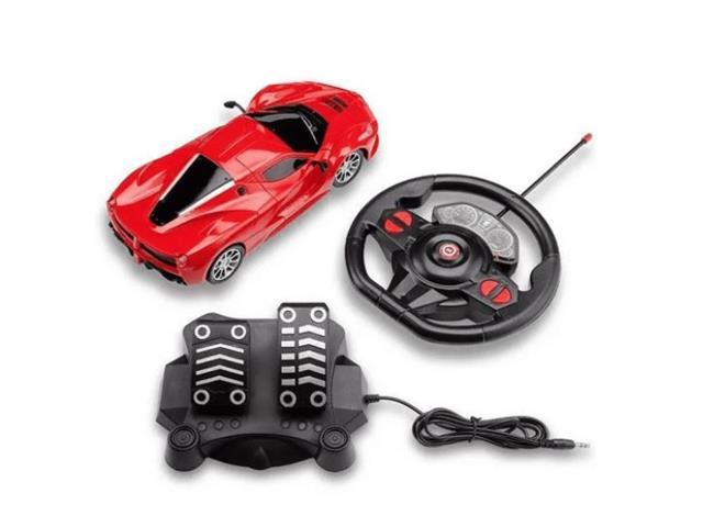 Carrinho de Contole Remoto Mulikids Racing Control SpeedX Vermelho