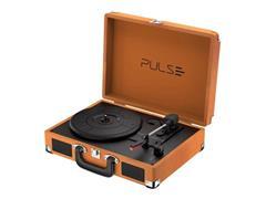 Vitrola Toca Discos Pulse Berry Suitcase Turntable Bluetooth Retrô - 2