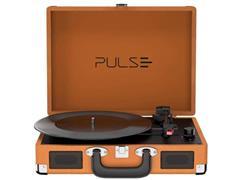 Vitrola Toca Discos Pulse Berry Suitcase Turntable Bluetooth Retrô - 1