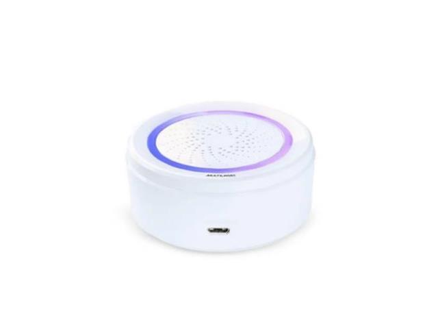 Sirene de Alarme Multilaser Liv SE232 Inteligente Wi-Fi