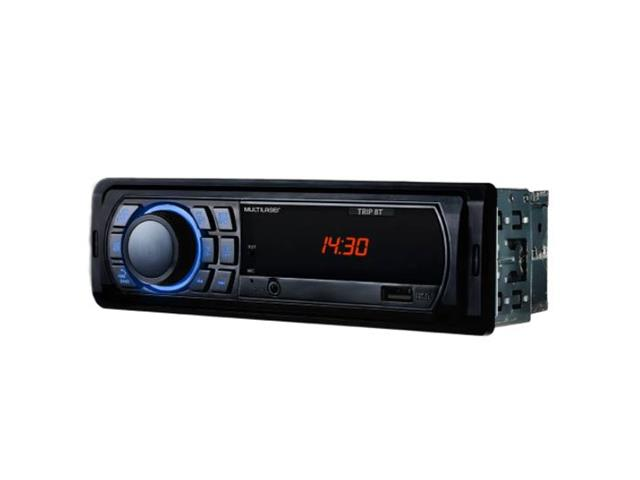 Som Automotivo Multilaser P3344 Trip BT MP3 4X25WRMS FM/USB/AUX