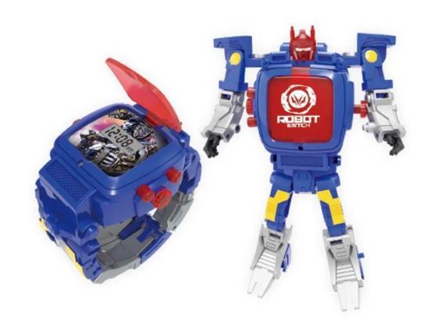 Robot Watch Relógio e Robô Multikids Sortido