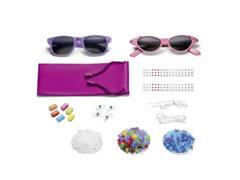 Óculos de Sol Multikids BR135 My Style com Acessórios Proteção UVA400