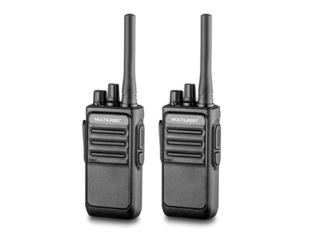 Rádio Comunicador Multilaser RE020 Walkie Talkie