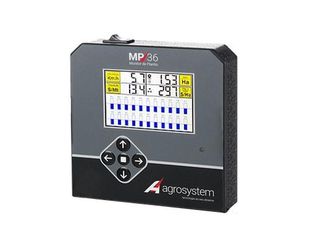 Monitor de Plantio Agrosystem MP36 08 Linhas Semente