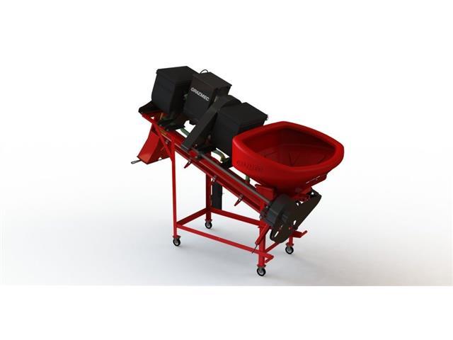 Máquina Grazmec Tratamento de Semente MTS 120 Especial 3 Caixas LIQ/PÓ