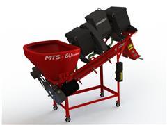 Máquina Grazmec Tratamento de Sementes MTS 60 Elétrica 2 Caixas LIQ