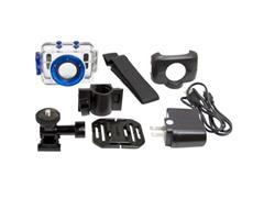 Câmera Vivitar Filmadora de Ação HD com Acessórios Azul - 5