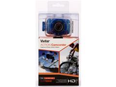 Câmera Vivitar Filmadora de Ação HD com Acessórios Azul - 4