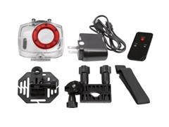 Câmera Vivitar de ação Full HD com Acessórios Vermelha - 3