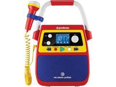 Rádio Infantil Bluetooth Portátil Meu Primeiro Gradiente Karaokê
