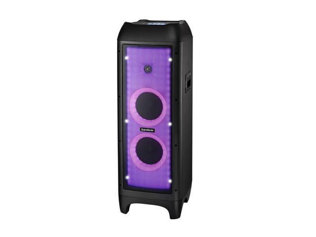 Caixa Amplificada Bluetooth Gradiente Full Led 1500W