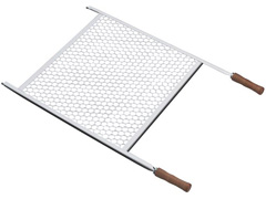 Grelha para Churrasco Tramontina Aço Inox 57cm - 0