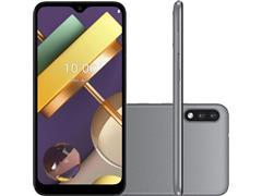 """Smartphone LG K22 4G 32GB Duos Tela 6.2"""" HD+ Câmera 13+2MP Cinza"""