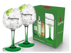 Jogo de Taças Tanqueray para Gin 600ML 2 Peças