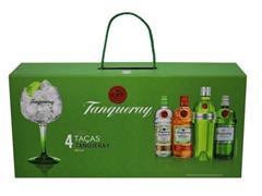 Jogo de Taças Tanqueray para Gin 600ML 4 Peças com Maleta - 3
