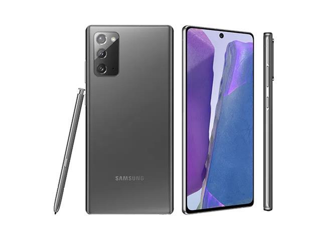 """Smartphone Samsung Galaxy Note 20 5G 256GB 6.7"""" 8GB 64+12+12MP Cinza"""