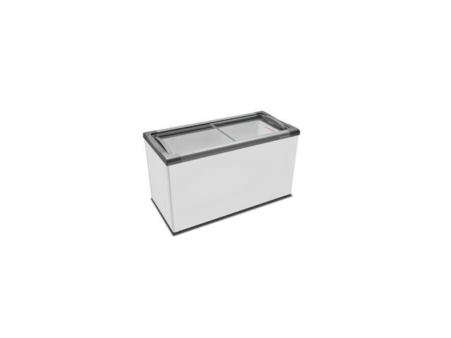 Freezer Horizontal Metalfrio R290 Supra Branco 400 Litros