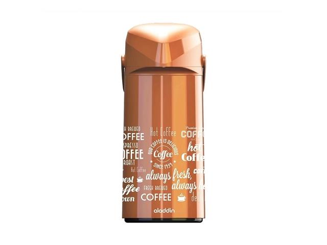 Garrafa Aladdin Massima Coffe 1,8 Litros Cores Sortidas Brown/Black