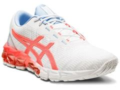 Tênis Asics Gel-Quantum 180 5 White/Sunrise Red Feminino