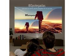 Kit Projetor TV Minibeam LG e Caixa de Som LG XBoom PL22 - 6