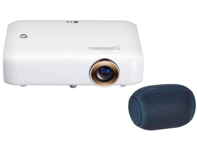 Kit Projetor LED Incorpexc LG e Caixa de Som LG XBoom PL22