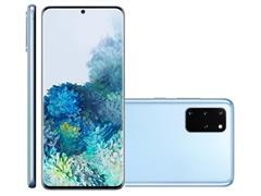 Kit Smartphone Samsung Galaxy S20+ Azul e Caixa de Som LG XBoom PL22 - 2