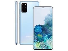Kit Smartphone Samsung Galaxy S20+ Azul e Caixa de Som LG XBoom PL22 - 1
