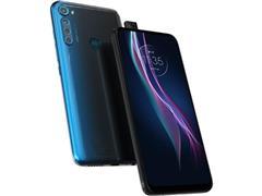 Kit Smartphone Motorola One Fusion+ 128GB e Caixa de Som LG XBoom PL22 - 2